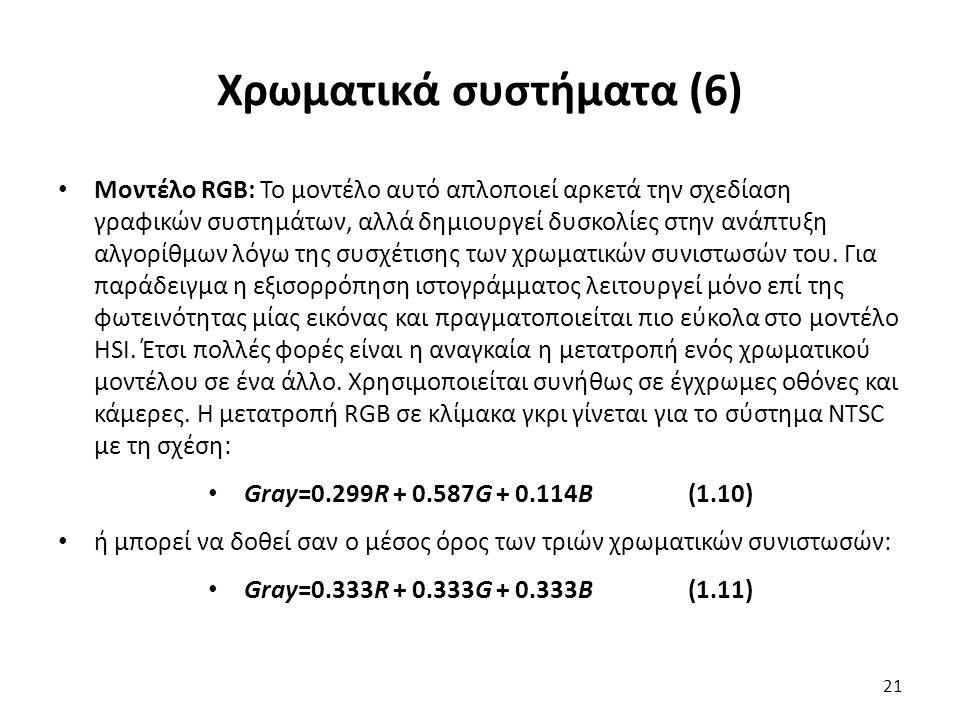 Χρωματικά συστήματα (6)