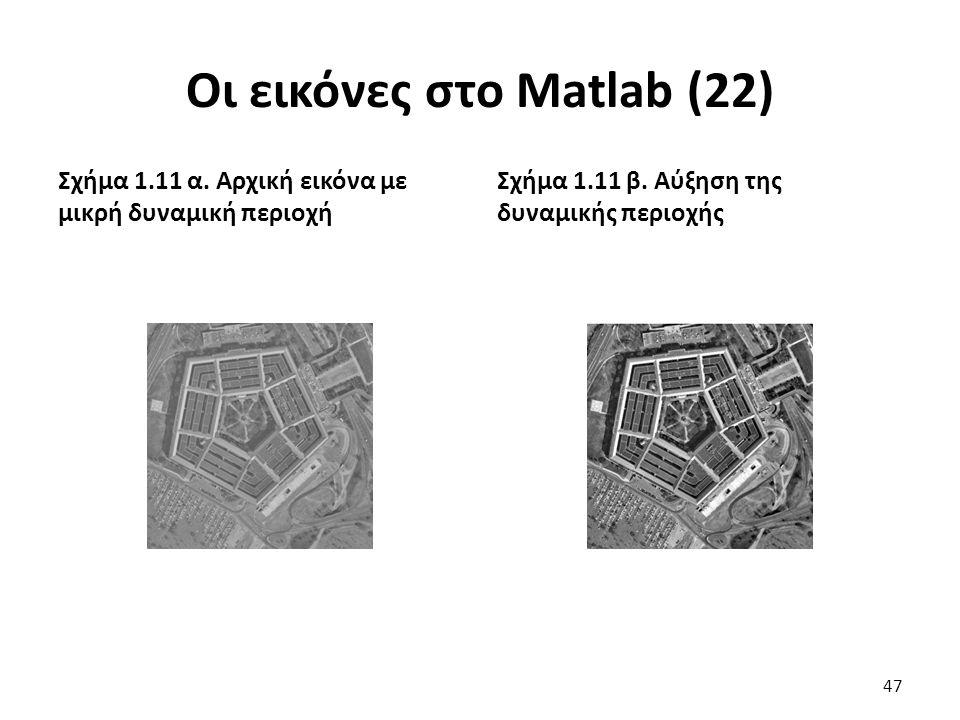 Οι εικόνες στο Matlab (22)