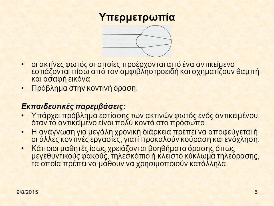Υπερμετρωπία