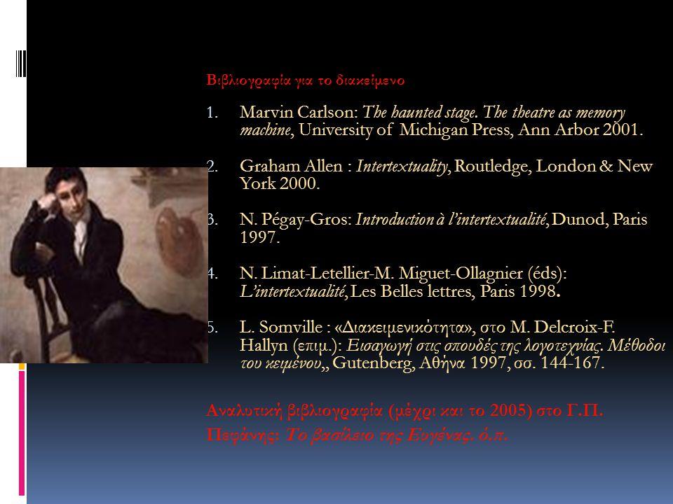 Graham Allen : Intertextuality, Routledge, London & New York 2000.