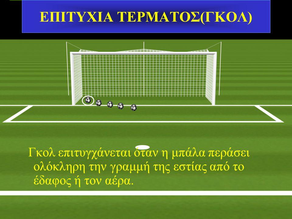 ΕΠΙΤΥΧΙΑ ΤΕΡΜΑΤΟΣ(ΓΚΟΛ)