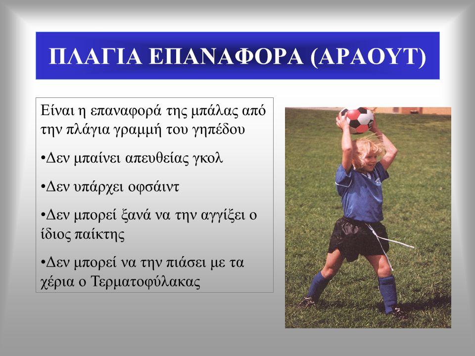 ΠΛΑΓΙΑ ΕΠΑΝΑΦΟΡΑ (ΑΡΑΟΥΤ)