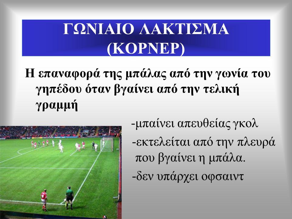 ΓΩΝΙΑΙΟ ΛΑΚΤΙΣΜΑ (ΚΟΡΝΕΡ)