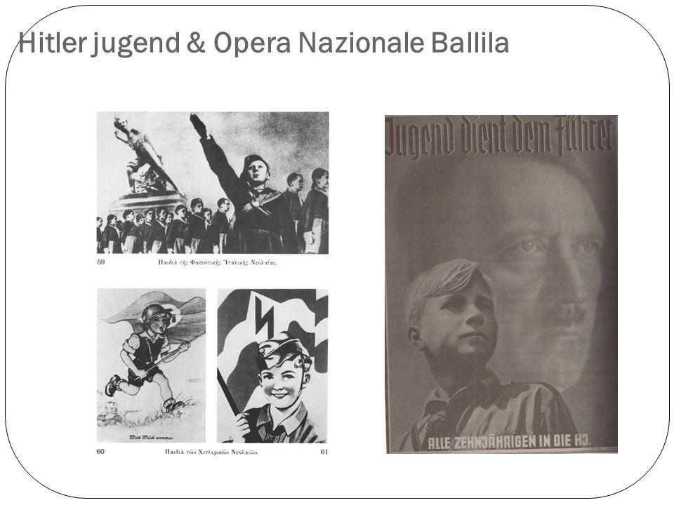 Hitler jugend & Opera Nazionale Ballila