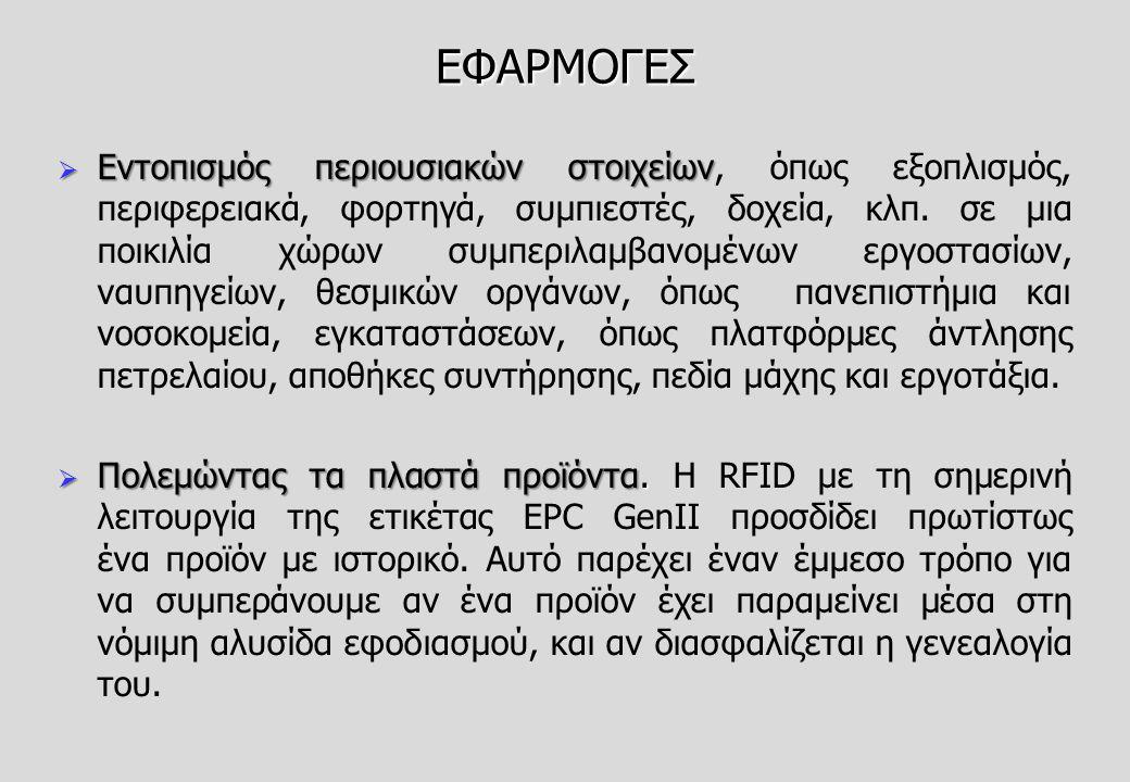ΕΦΑΡΜΟΓΕΣ