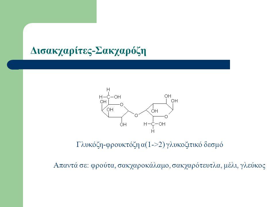 Δισακχαρίτες-Σακχαρόζη