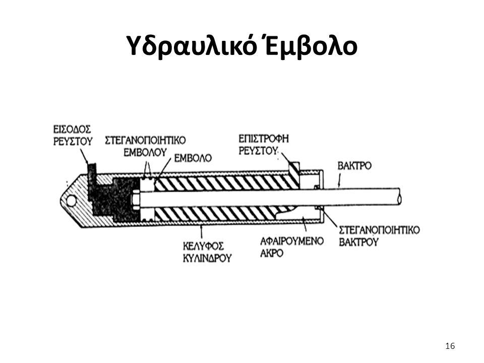 Υδραυλικό Έμβολο