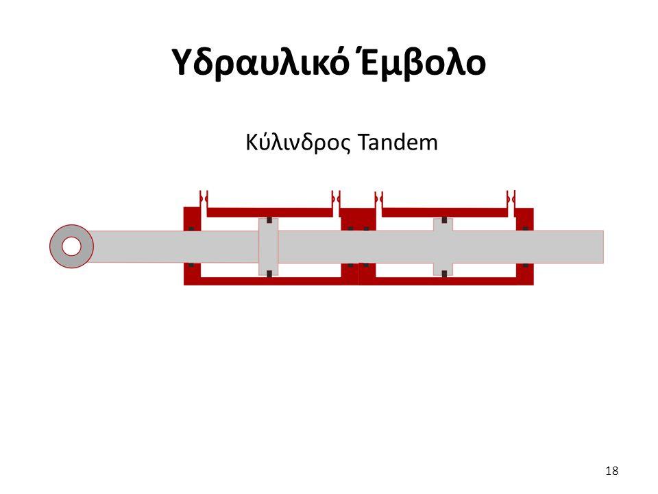 Υδραυλικό Έμβολο Κύλινδρος Tandem