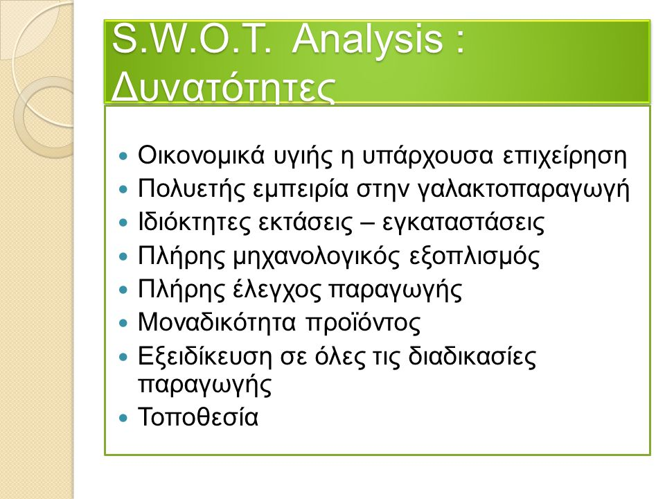 apple s w o t analysis He provided business news daily with a sample swot analysis template used in the firm's decision to expand its practice to include dispute mediation services strengths.