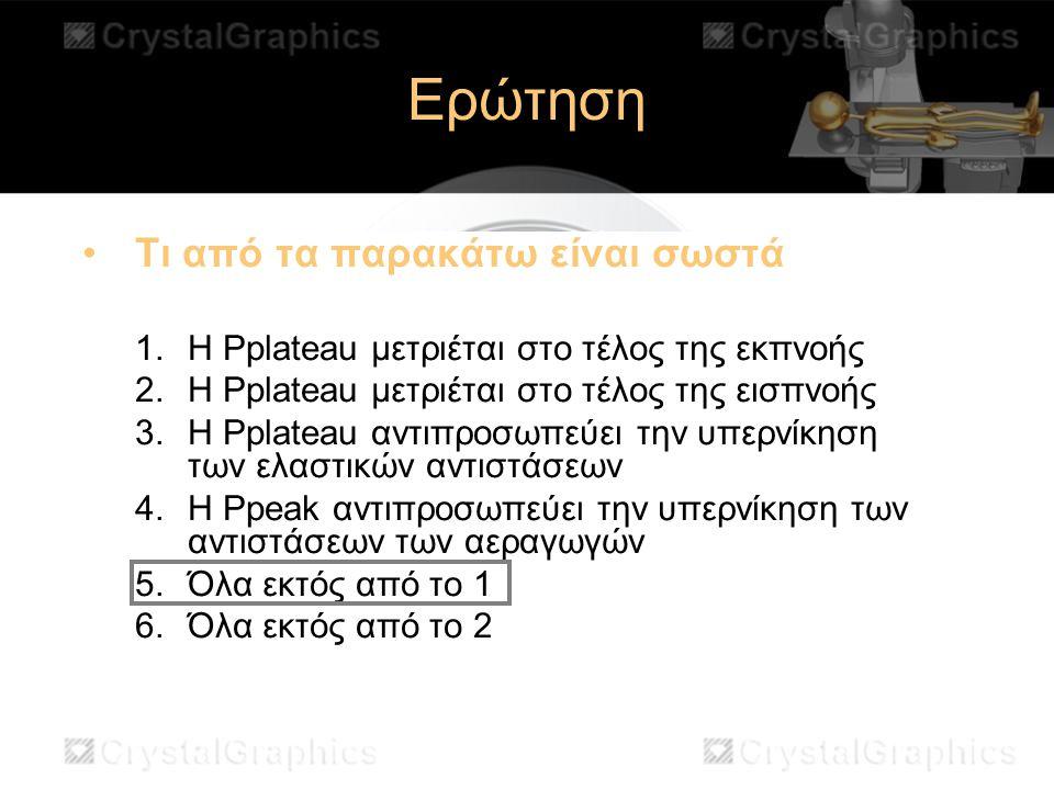 Ερώτηση Τι από τα παρακάτω είναι σωστά