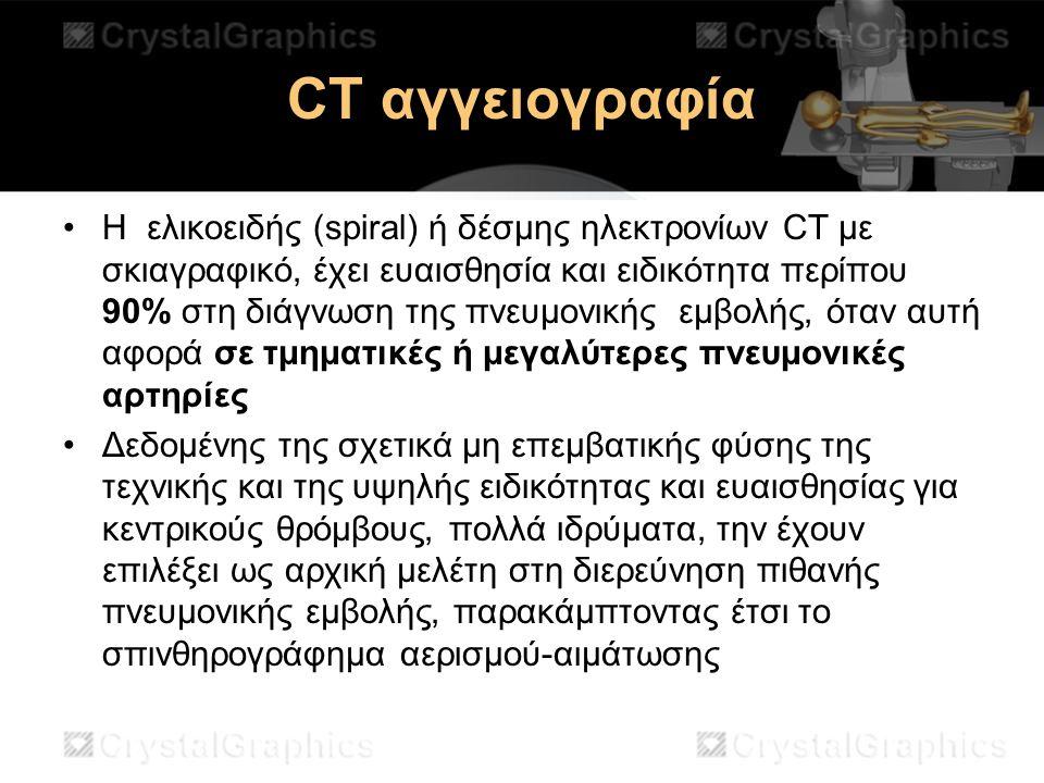 CT αγγειογραφία