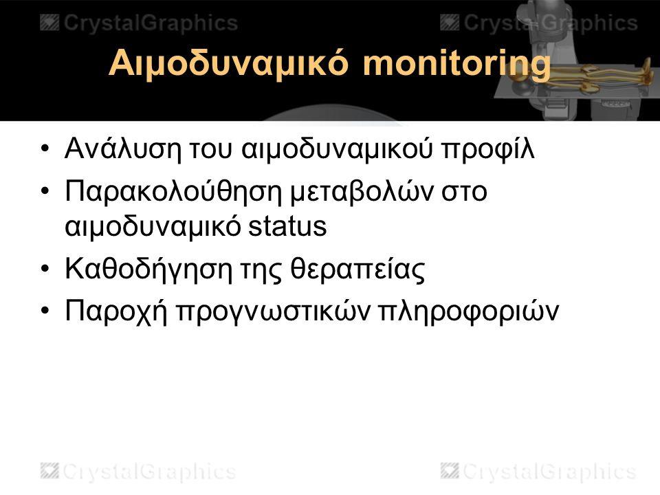 Αιμοδυναμικό monitoring