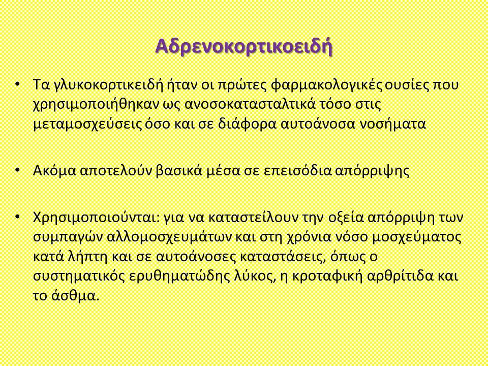 Αδρενοκορτικοειδή