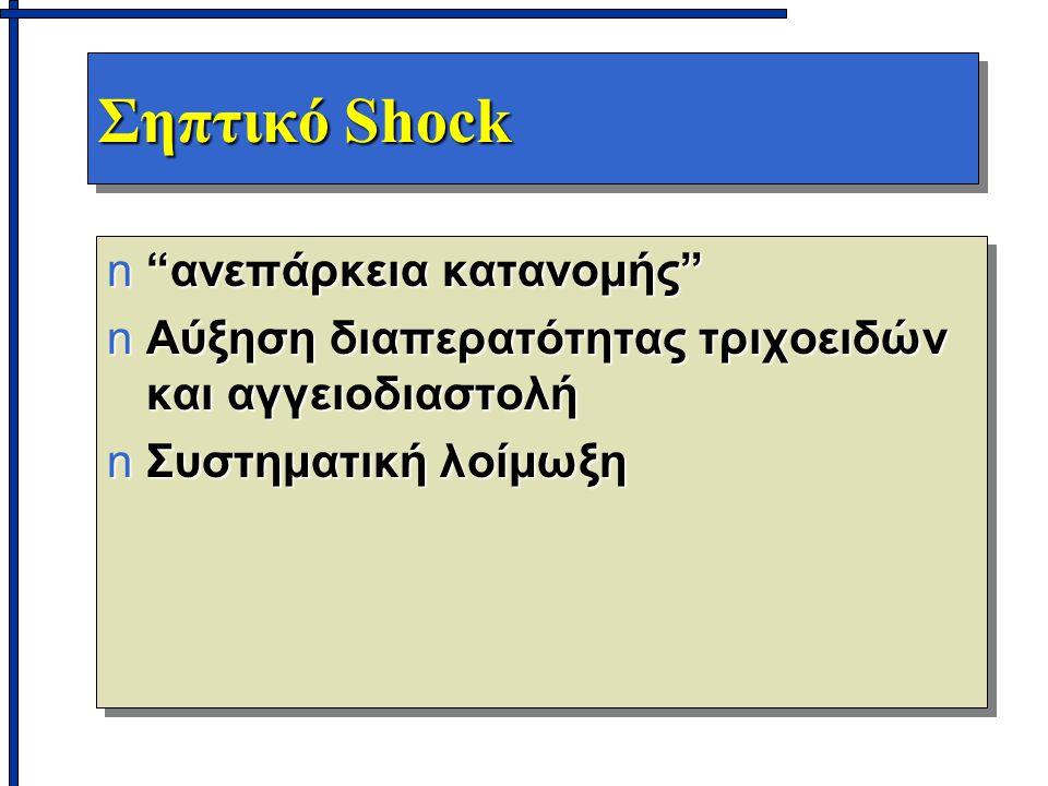 Σηπτικό Shock ανεπάρκεια κατανομής