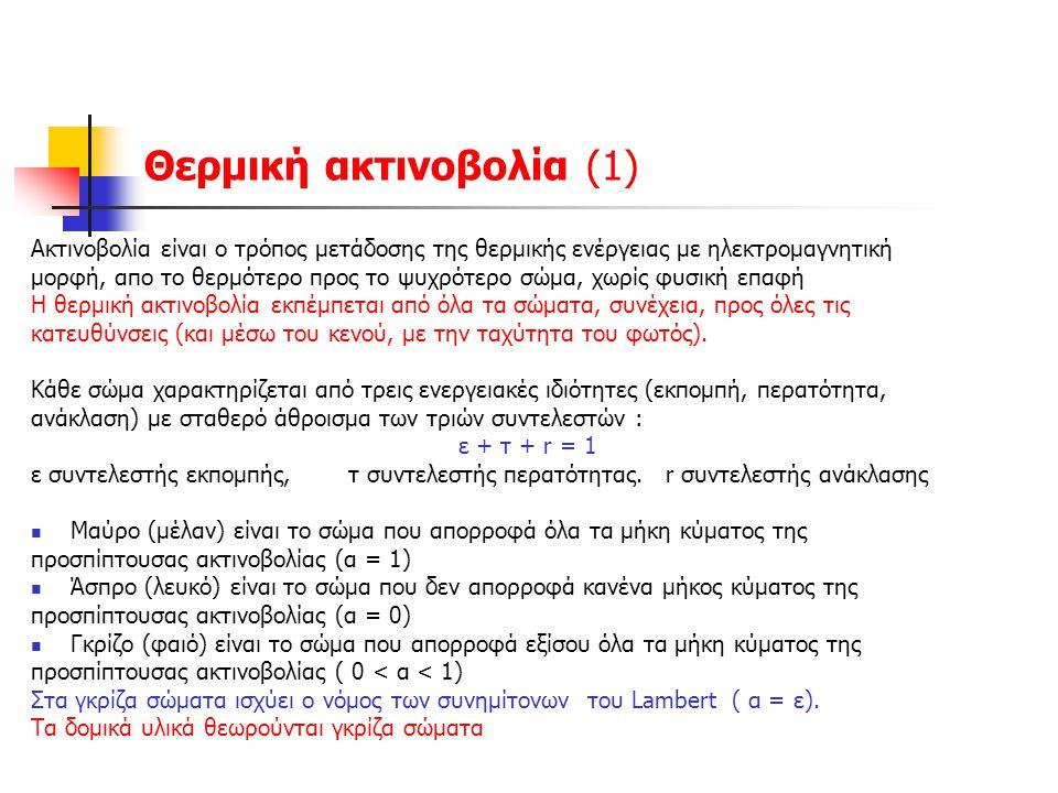 Θερμική ακτινοβολία (1)