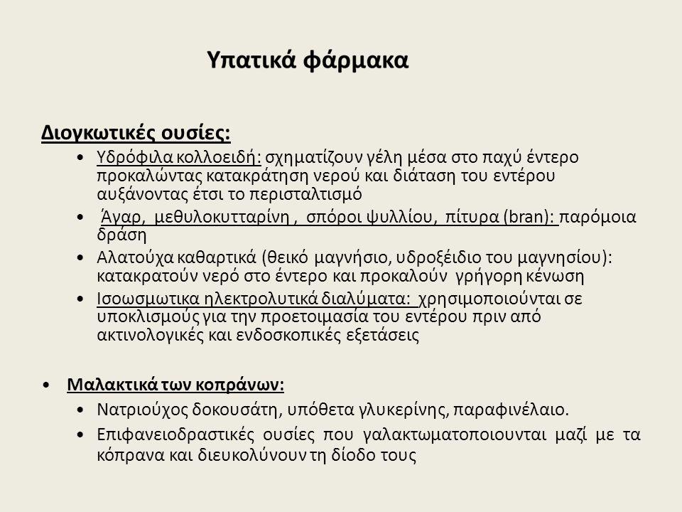 Διογκωτικές ουσίες: