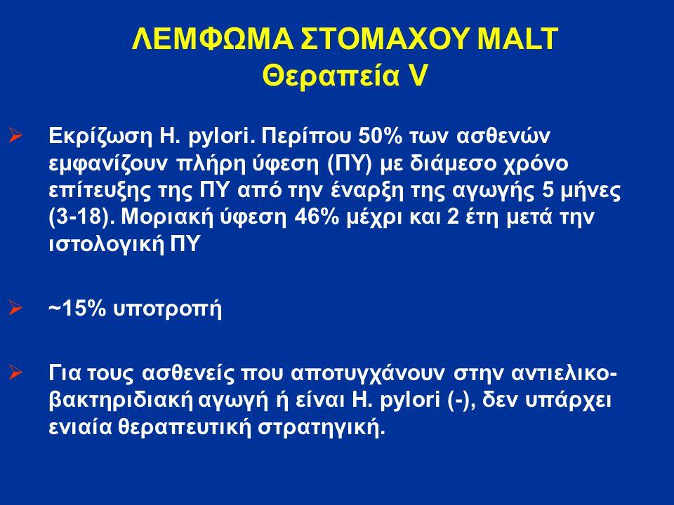 ΛΕΜΦΩΜΑ ΣΤΟΜΑΧΟΥ MALT Θεραπεία V
