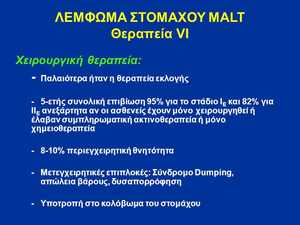 ΛΕΜΦΩΜΑ ΣΤΟΜΑΧΟΥ MALT Θεραπεία VΙ