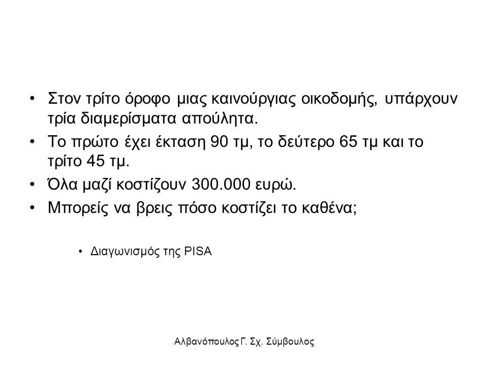 Αλβανόπουλος Γ. Σχ. Σύμβουλος