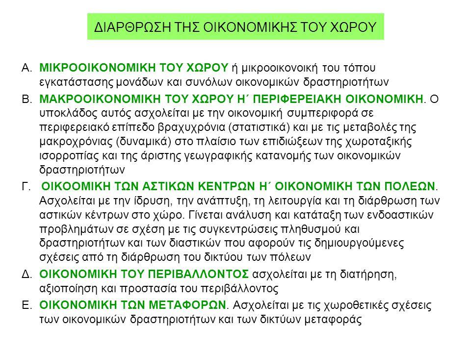 ΔΙΑΡΘΡΩΣΗ ΤΗΣ ΟΙΚΟΝΟΜΙΚΗΣ ΤΟΥ ΧΩΡΟΥ