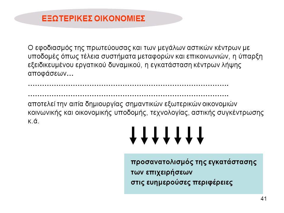 ΕΞΩΤΕΡΙΚΕΣ ΟΙΚΟΝΟΜΙΕΣ