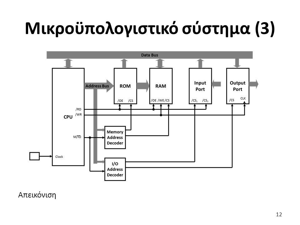 Μικροϋπολογιστικό σύστημα (3)