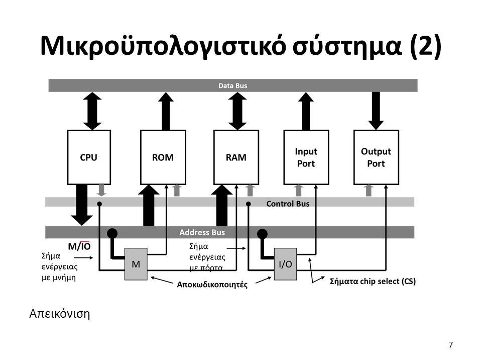 Μικροϋπολογιστικό σύστημα (2)