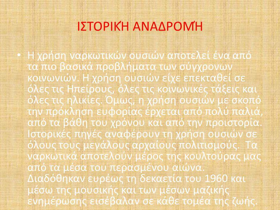 ΙΣΤΟΡΙΚΉ ΑΝΑΔΡΟΜΉ