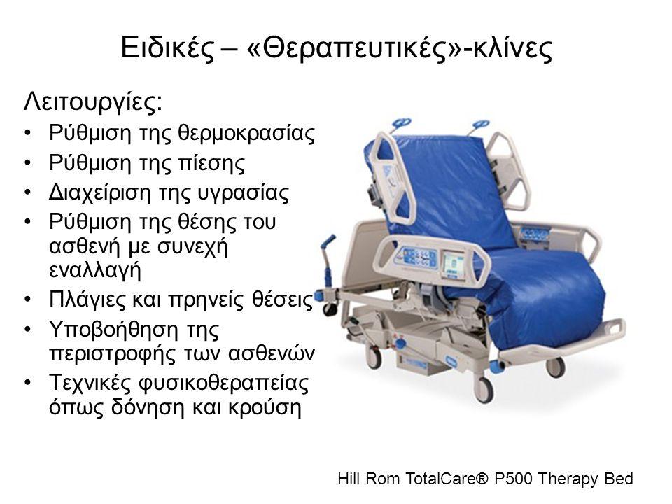 Ειδικές – «Θεραπευτικές»-κλίνες