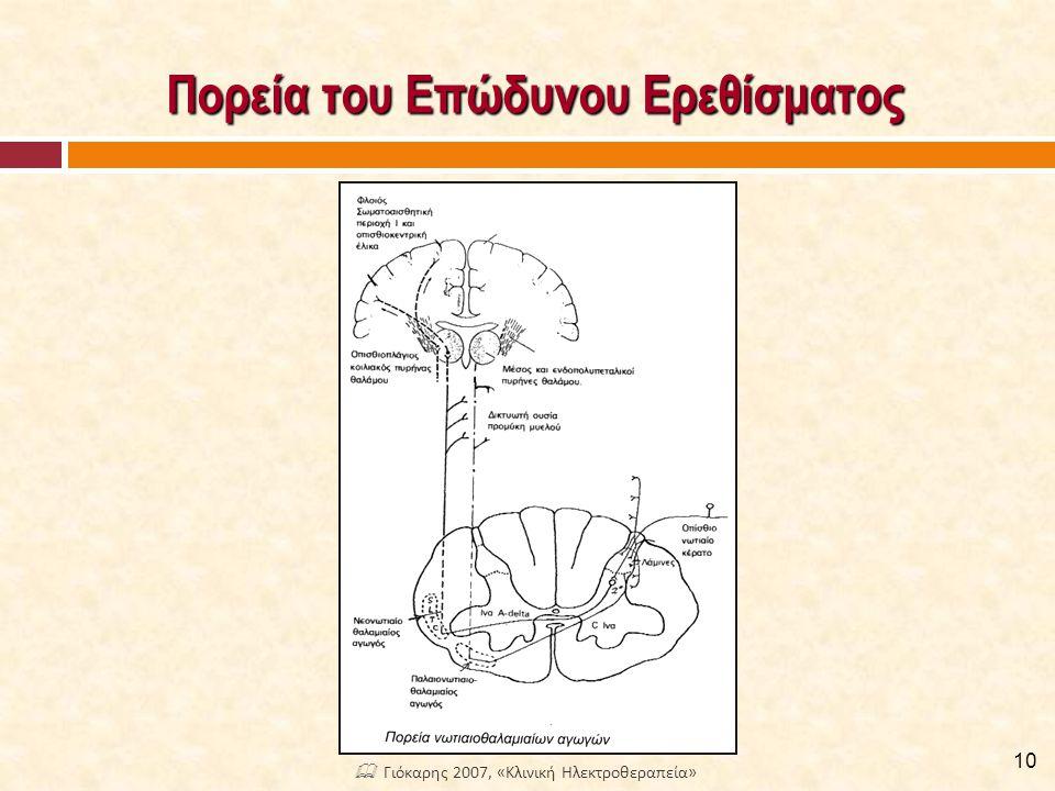 Κατιόν Σύστημα Ελέγχου και Τροποποίησης του Πόνου