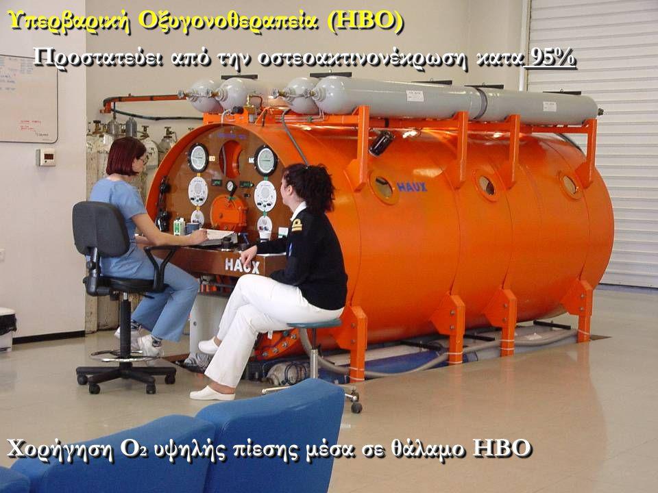 Υπερβαρική Οξυγονοθεραπεία (ΗΒΟ)