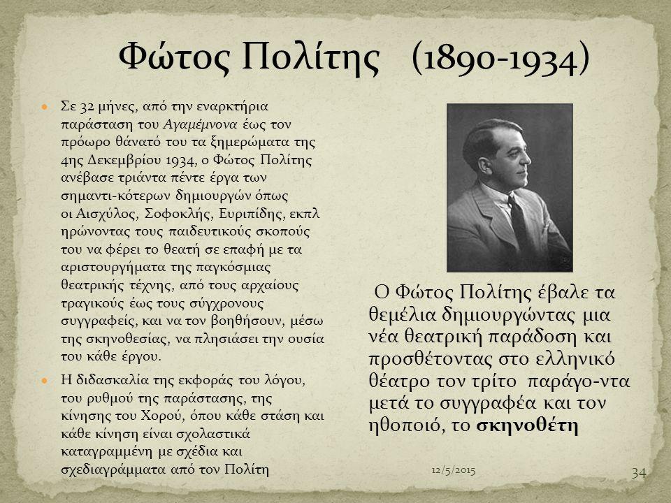Φώτος Πολίτης (1890-1934)