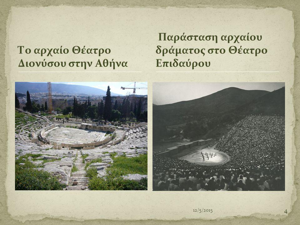 Το αρχαίο Θέατρο Διονύσου στην Αθήνα