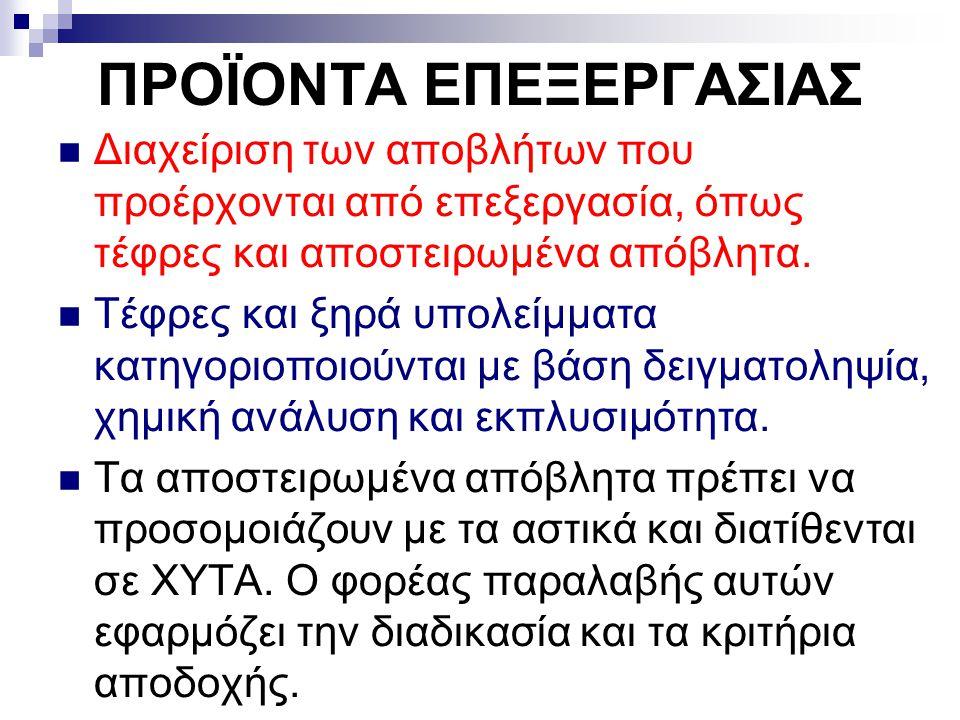 ΠΡΟΪΟΝΤΑ ΕΠΕΞΕΡΓΑΣΙΑΣ