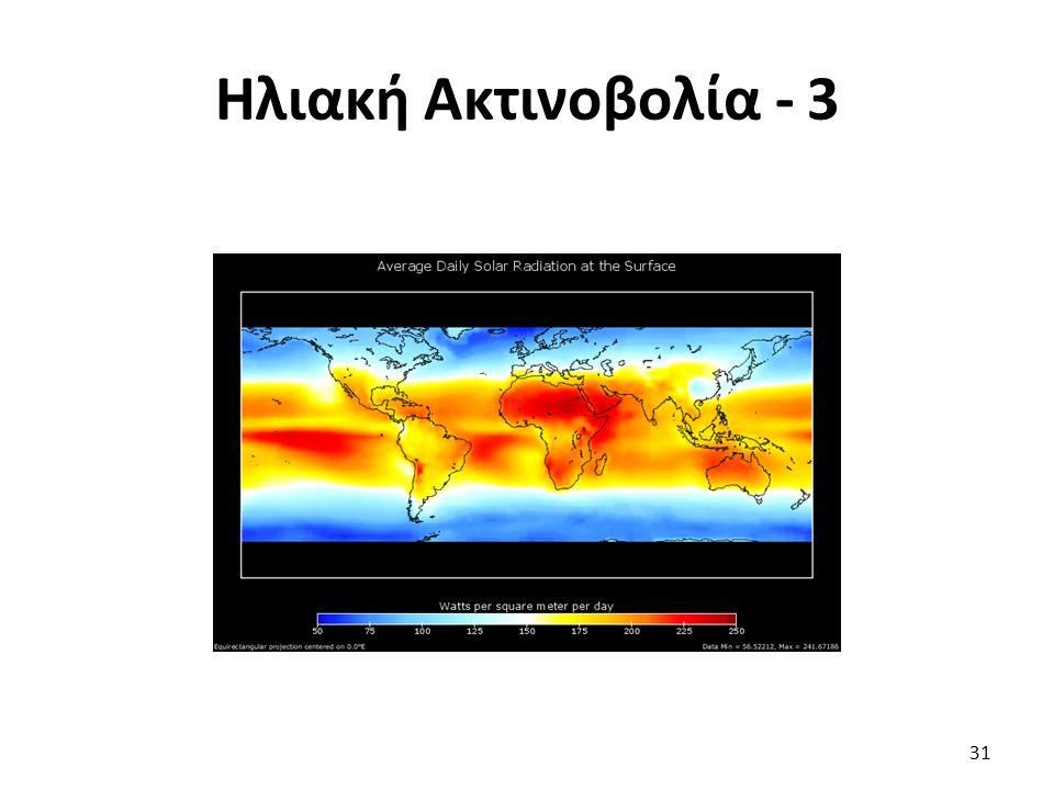 Ηλιακή Ακτινοβολία - 3