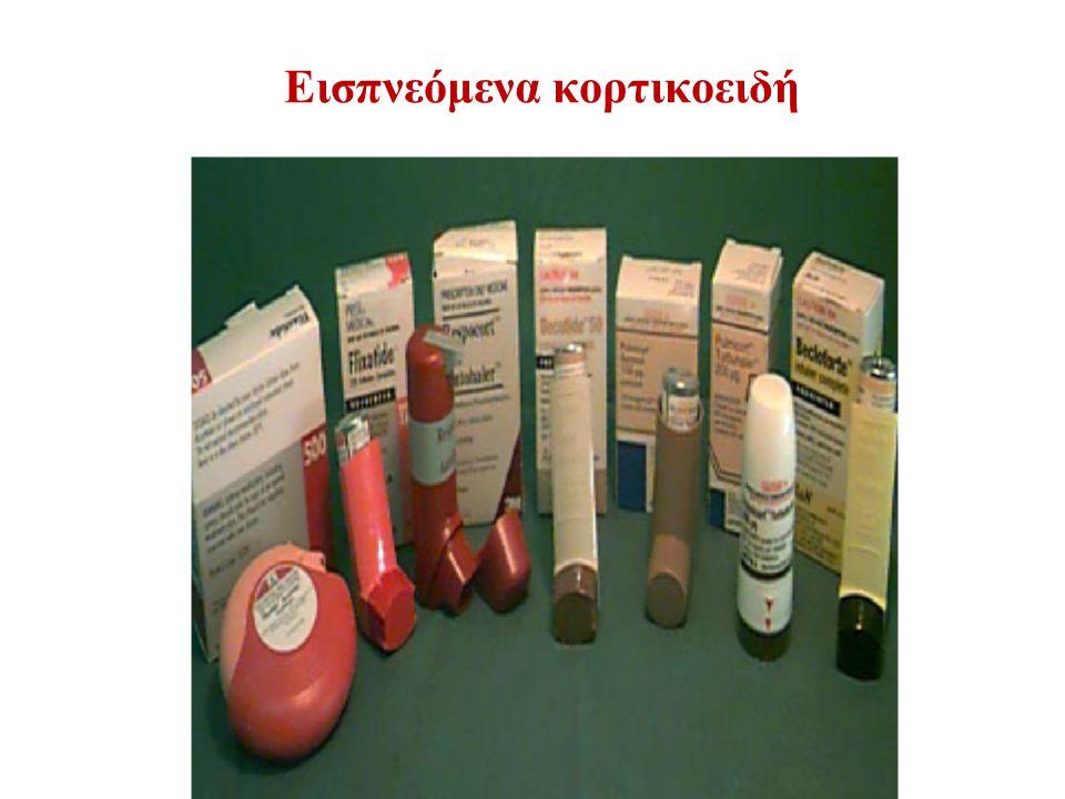 Εισπνεόμενα κορτικοειδή