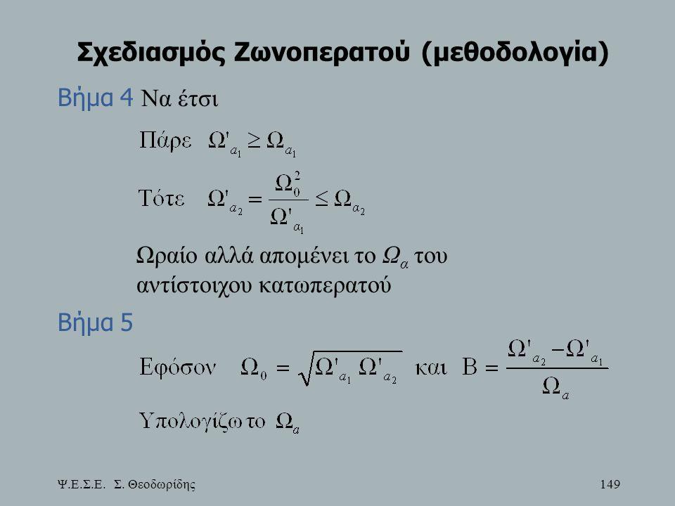 Σχεδιασμός Ζωνοπερατού (μεθοδολογία)