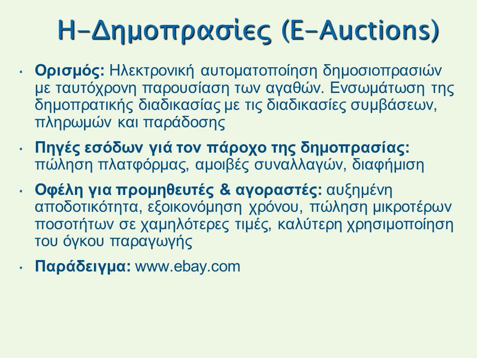 H-Δημοπρασίες (E-Auctions)