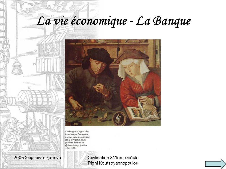 La vie économique - La Banque