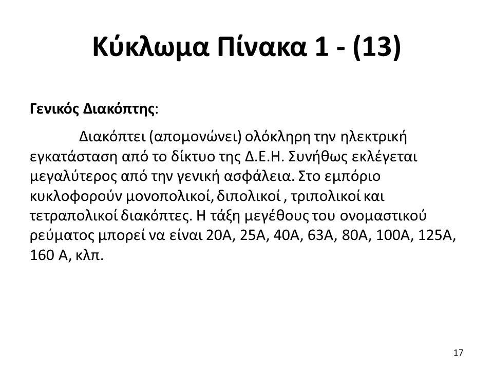 Κύκλωμα Πίνακα 1 - (13)