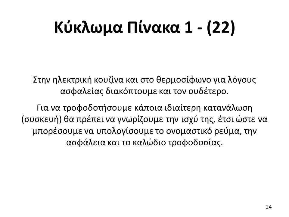 Κύκλωμα Πίνακα 1 - (22)