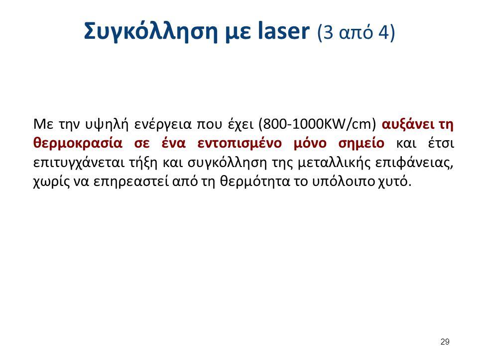 Συγκόλληση με laser (4 από 4)