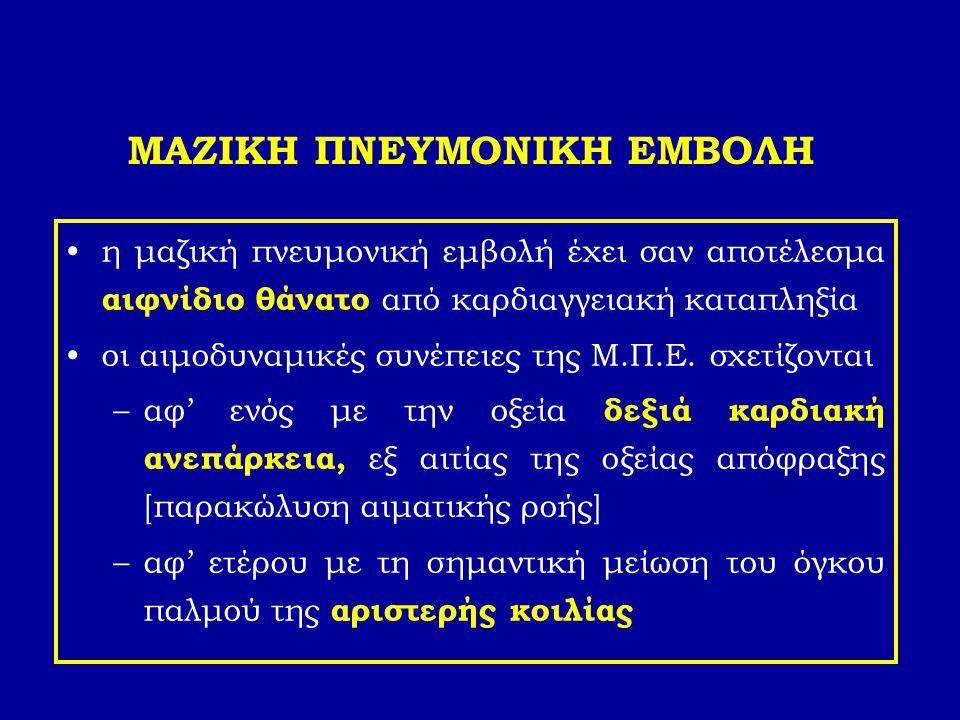 ΜΑΖΙΚΗ ΠΝΕΥΜΟΝΙΚΗ ΕΜΒΟΛΗ