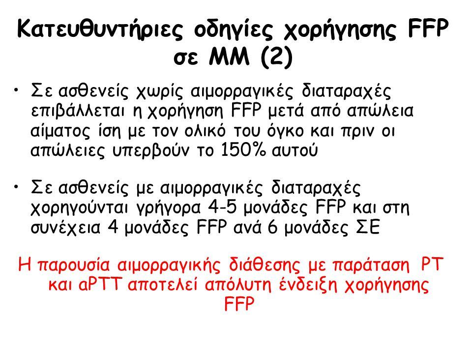 Κατευθυντήριες οδηγίες χορήγησης FFP σε ΜΜ (2)