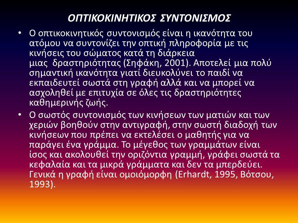 ΟΠΤΙΚΟΚΙΝΗΤΙΚΟΣ ΣΥΝΤΟΝΙΣΜΟΣ