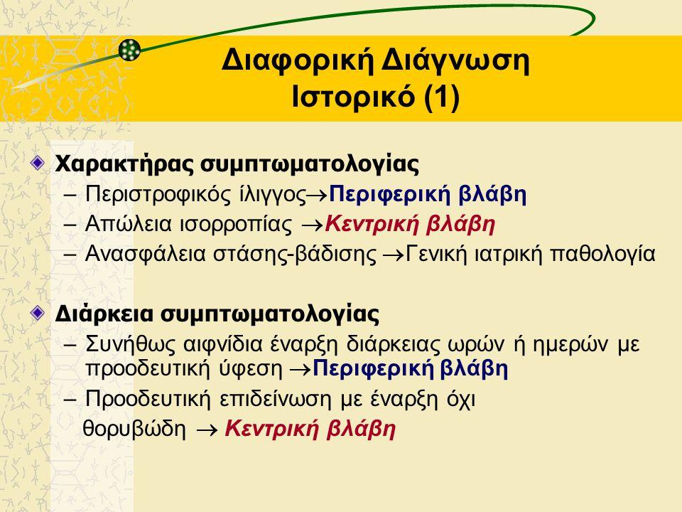 Διαφορική Διάγνωση Ιστορικό (1)