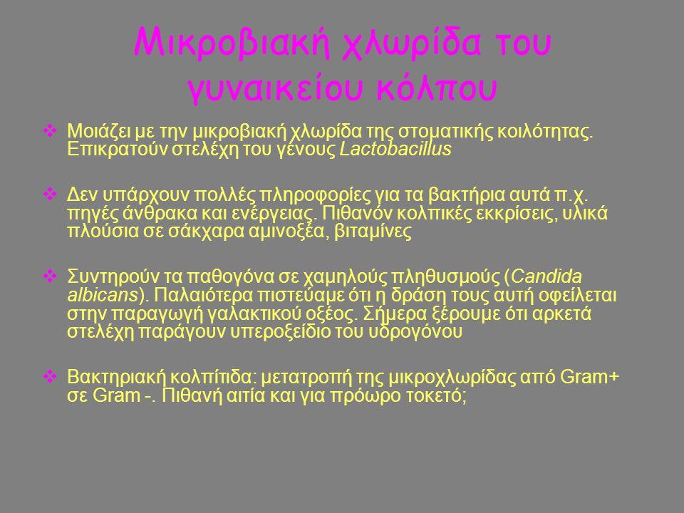 Μικροβιακή χλωρίδα του γυναικείου κόλπου