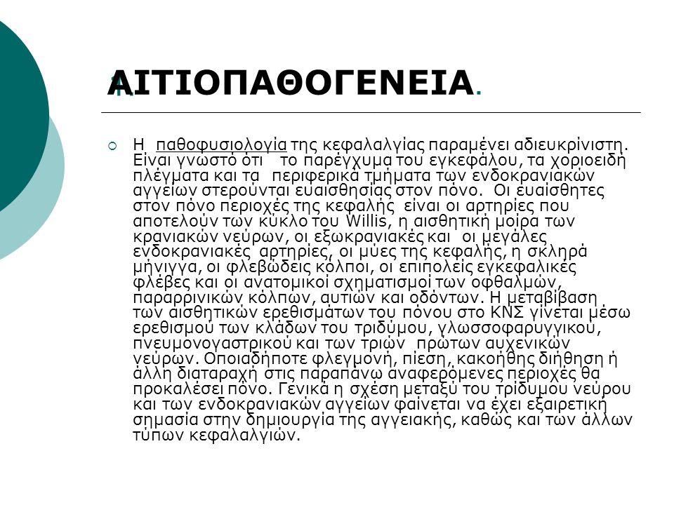 ΑΙΤΙΟΠΑΘΟΓΕΝΕΙΑ. 1.