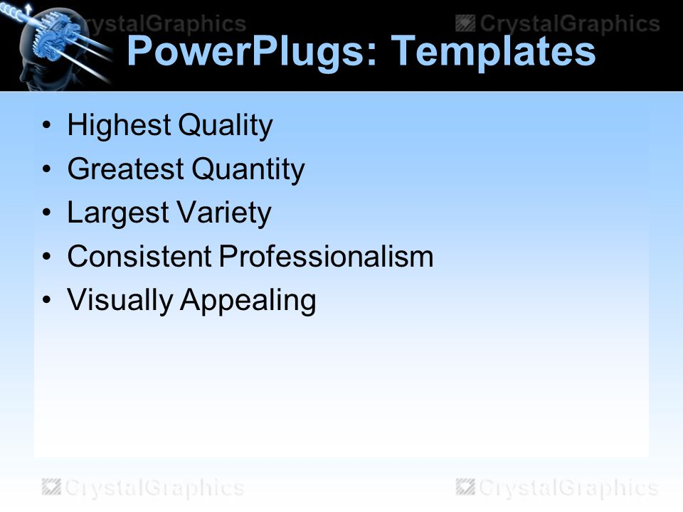 PowerPlugs: Templates