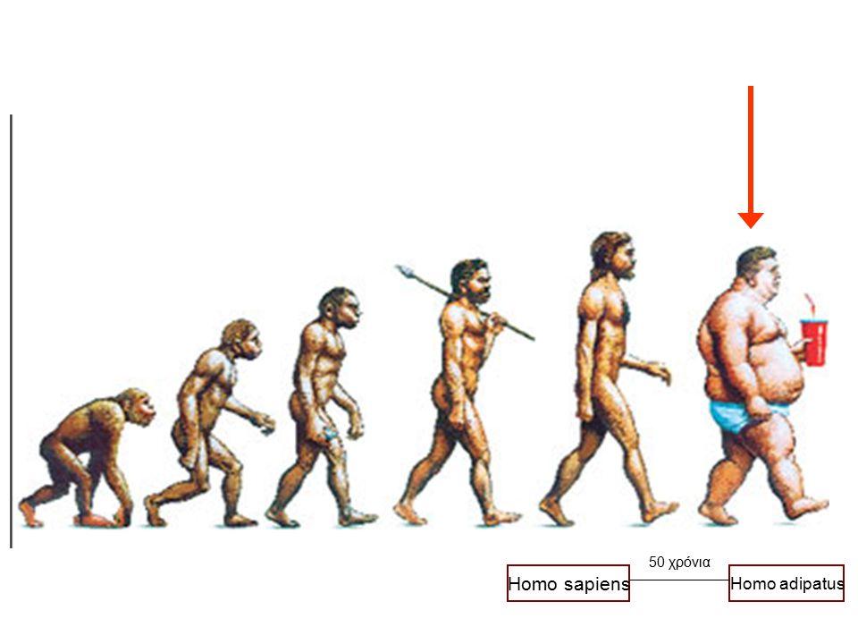 50 χρόνια Homo sapiens Homo adipatus 13